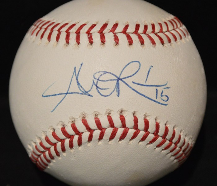 West_Coast_Authentic_MLB_Alex_Rios_Autographed_Baseball