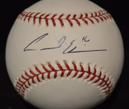 West_Coast_Authentic_MLB_Andre_Either_Autographed_Baseball