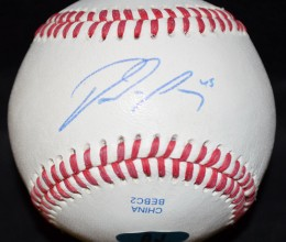 West_Coast_Authentic_MLB_Blue Jays_Dalton_Pompey_Autographed_Baseball