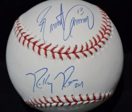West_Coast_Authentic_MLB_Blue_Jays_Brett_Lawrie_Ricky_Romero_Autographed_Baseaball