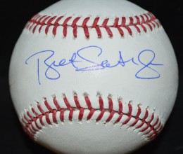 West_Coast_Authentic_MLB_Bret_Saberhagen_Autographed_Baseball