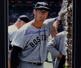 West_Coast_Authentic_MLB_Red_Sox_Ted_Williams_Autographed_Photo(1)
