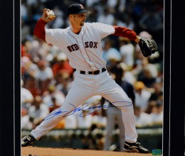 West_Coast_Authentic_MLB_Red_Sox_Tim_Wakefield_Autographed_Photo(1)