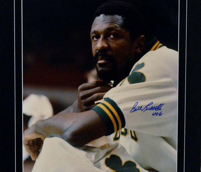 West_Coast_Authentic_NBA_Celtics_Bill_Russell_Autographed_Photo