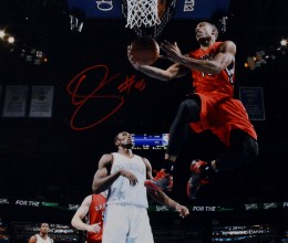 West_Coast_Authentic_NBA_Raptors_DeMar_DeRozan_Autographed_Photo_2