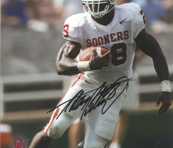 West_Coast_Authentic_NCAA_Sooners_Adrian_Peterson_Autographed_Photo
