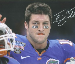West_Coast_Authentic_NCAA_Tim_Tebow_Autographed_Photo