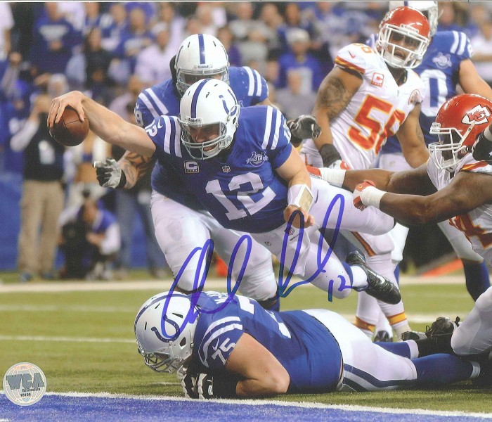 West_Coast_Authentic_NFL_Colts_Andrew_Luck_Autographed_Photo(1)