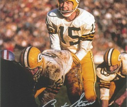 West_Coast_Authentic_NFL_Packers_Bart_Starr_Autographed_Photo