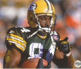 West_Coast_Authentic_NFL_Packers_Sterling_Sharpe_Autographed_Photo