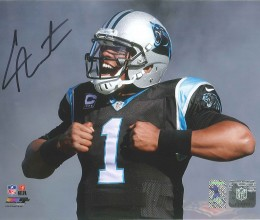 West_Coast_Authentic_NFL_Panthers_Cam_Newton_Autographed_Photo