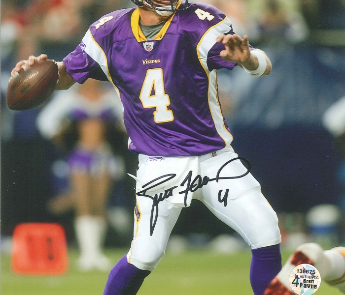 West_Coast_Authentic_NFL_Vikings_Brett_Favre_Autographed_Photo