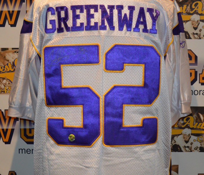 chad greenway jersey