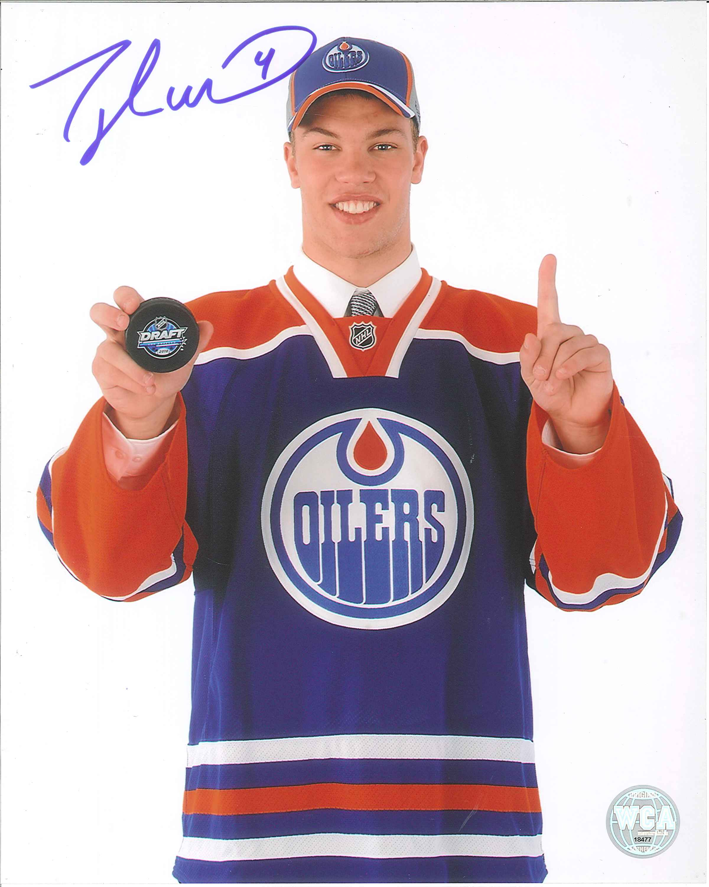 taylor hall oilers jersey