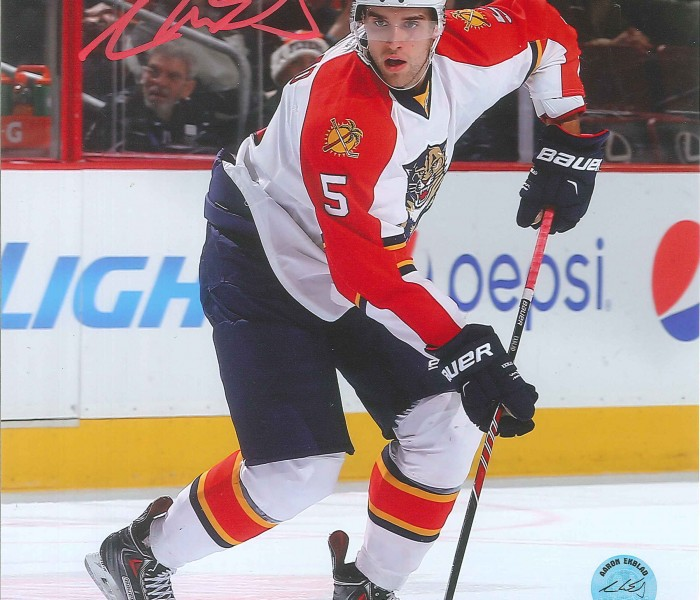 West_Coast_Authentic_NHL_Panthers_Aaron_Ekblad_Autographed_Photo(1)