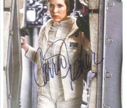 West_Coast_Authentic_Star_Wars_Carrie_Fisher_Autographed_Photo(1)