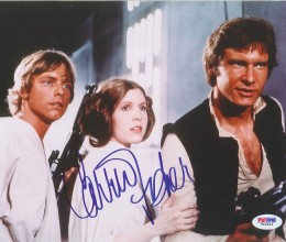 West_Coast_Authentic_Star_Wars_Carrie_Fisher_Autographed_Photo(2)
