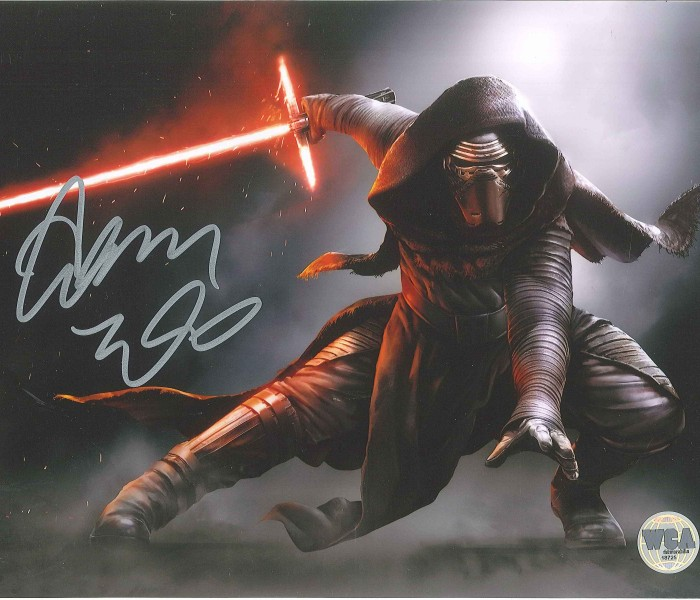 West_Coast_Authentic_Star_Wars_Kylo_Ren_Autographed_Photo(1)