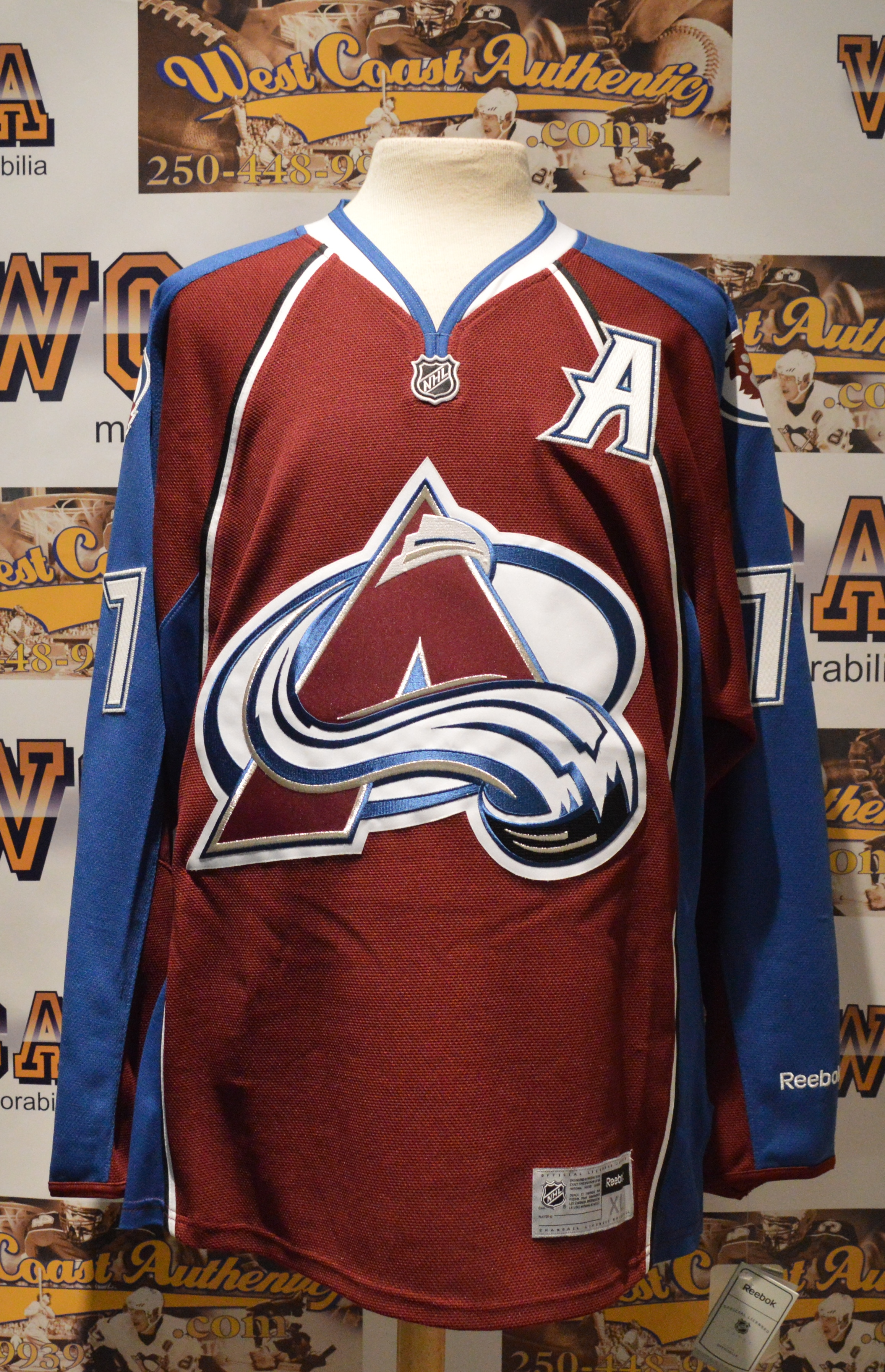 san francisco 368bc d1ad0 low cost ray bourque colorado avalanche jersey 7bba7 5b856