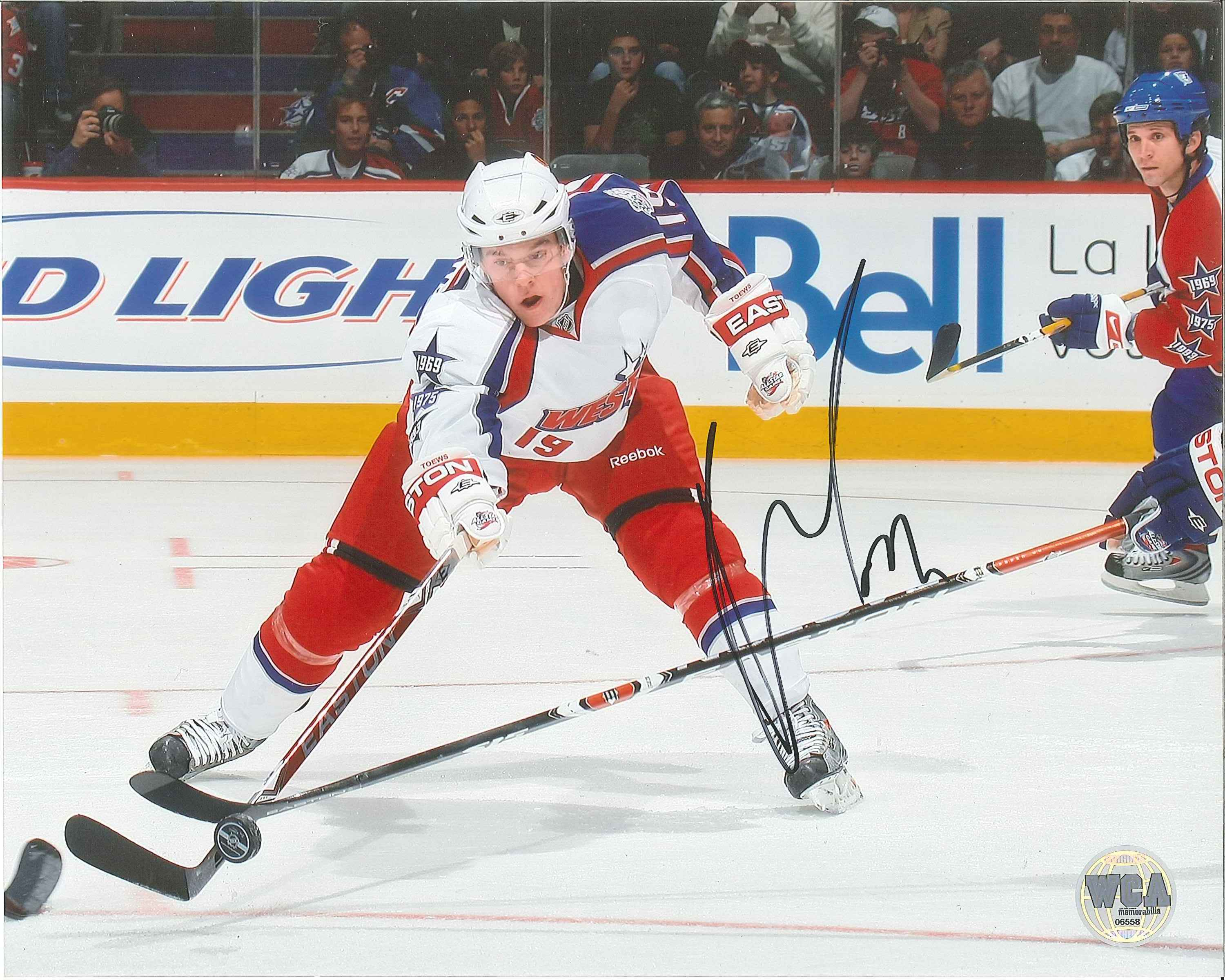 online store c4535 76893 Jonathan Toews Autographed NHL All-Star Game 8 x 10 Photo
