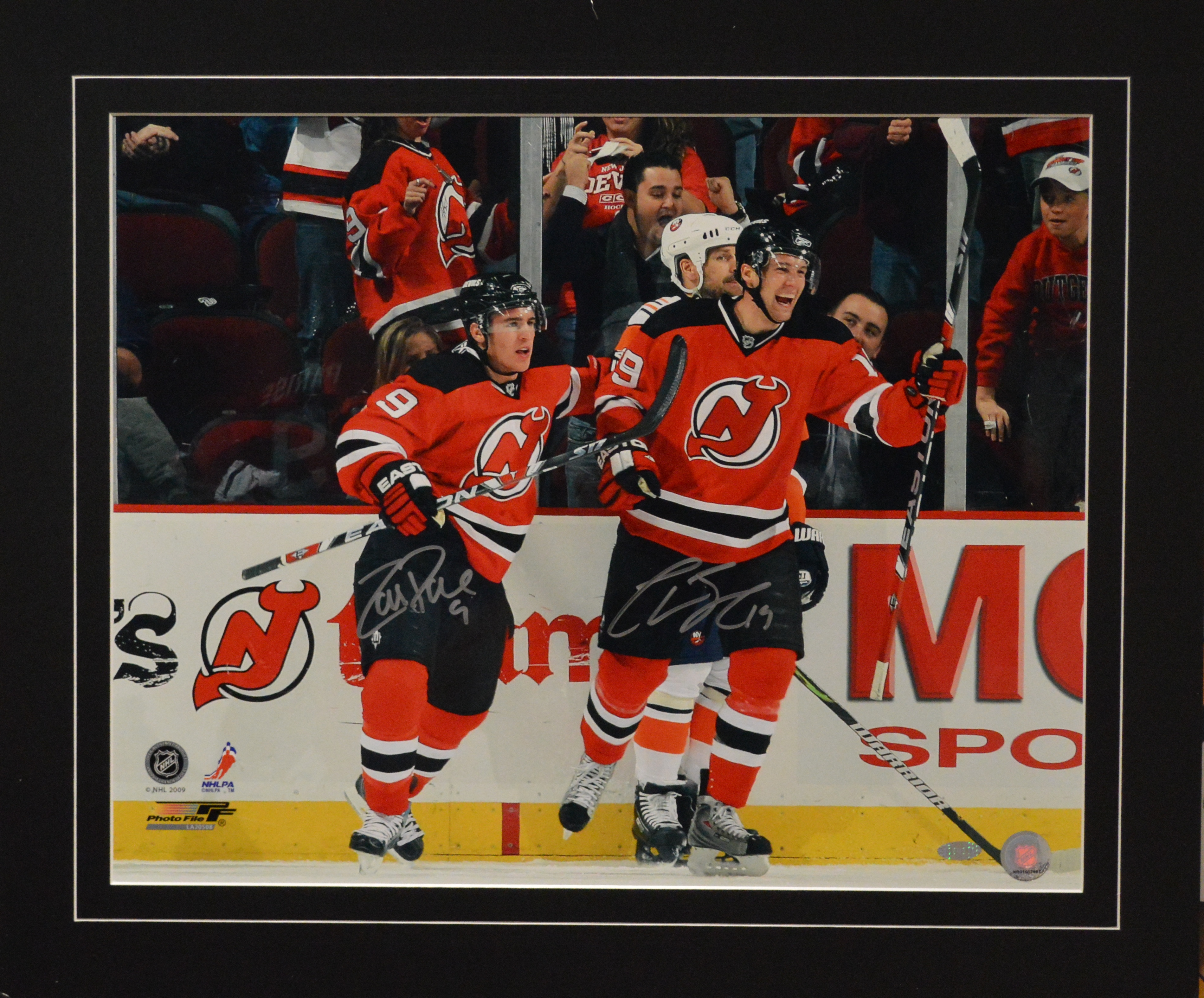 brand new 83b6c a636c Zach Parise & Travis Zajac Autographed New Jersey Devils 16 x 20 Photo