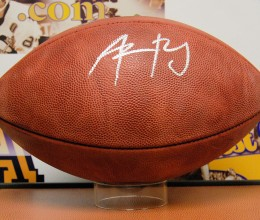 west_coast_authentic_nfl_packers_aaron_rodgers_autographed_football