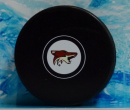 west_coast_authentic_nhl_coyotes_unsigned_puck