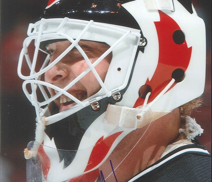 Martin Brodeur Autographed New Jersey Devils 8 X 10 Photo