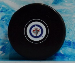 west_coast_authentic_nhl_jets_unsigned_puck
