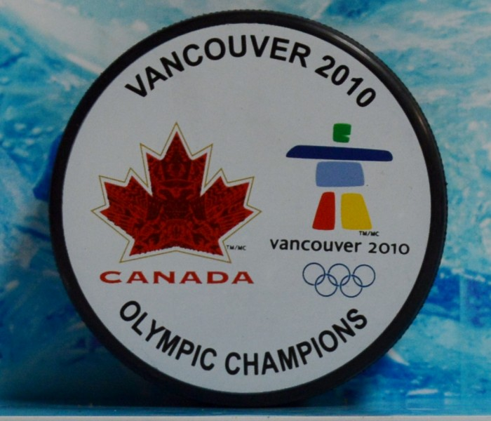 west_coast_authentic_olympics_2010_unsigned_puck