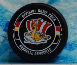 west_coast_authentic_qmjhl_draakar_unsigned_pucks