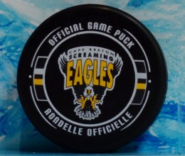 west_coast_authentic_qmjhl_screaming_eagles_unsigned_pucks
