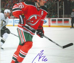Patrick Elias Autographed New Jersey Devils 8 x 10 Photo ee6fd4421