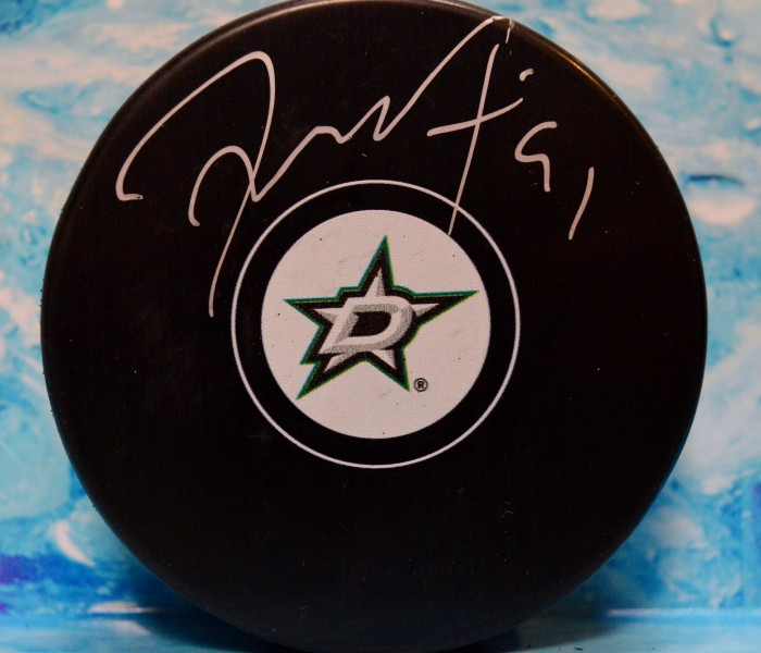west_coast_authentic_nhl_stars_tyler_seguin_autographed_puck