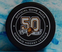 west_coast_authentic_ohl_knights_unsigned_puck