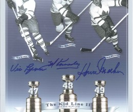 West_Coast_Authentic_NHL_Leafs_Vic_Lynn_Howie_Meeker_Ted_Kennedy_Autographed_Photo