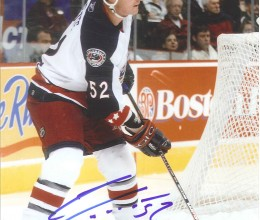 West_Coast_Authentic_NHL_Blue_Jackets_Adam_Foote_Autographed_Photo(1)