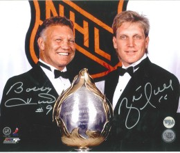 West_Coast_Authentic_NHL_Bobby_Hull_Brett_Hull_Autographed_Photo(1)11x14