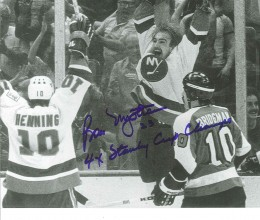 West_Coast_Authentic_NHL_Islanders_Bob_Nystrom_Autographed_Photo