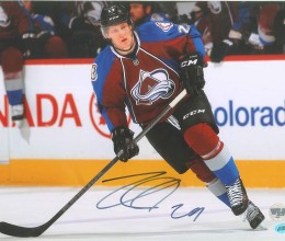 West_Coast_Authentic_NHL_Avalanche_Nathan_MacKinnon_Autographed_Photo11x14