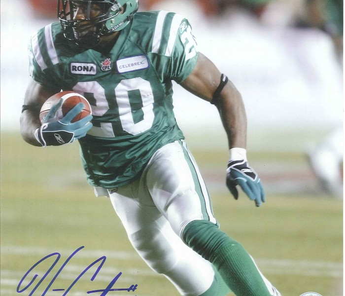 West_Coast_Authentic_CFL_Roughriders_Wes_Cates_Autographed_Photo