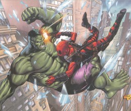 West_Coast_Authentic_Incredible_Hulk_Deadpool_Print
