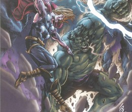 West_Coast_Authentic_Incredible_Hulk_Thor_Print