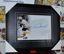 West_Coast_Authentic_NHL_Canucks_Dave_Babych_Autographed_Framed_Photo