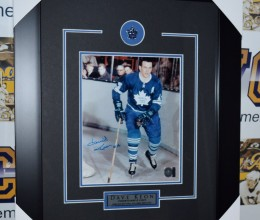 West_Coast_Authentic_NHL_Leafs_Dave_Keon_Autographed_Framed_Photo