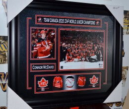 West_Coast_Authentic_Team_Canada_Connor_McDavid_Autographed_Framed_Photo