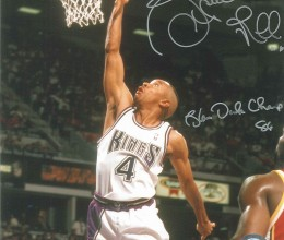 West_Coast_Authentic_NBA_Kings_Spud_Webb_Autographed_Photo
