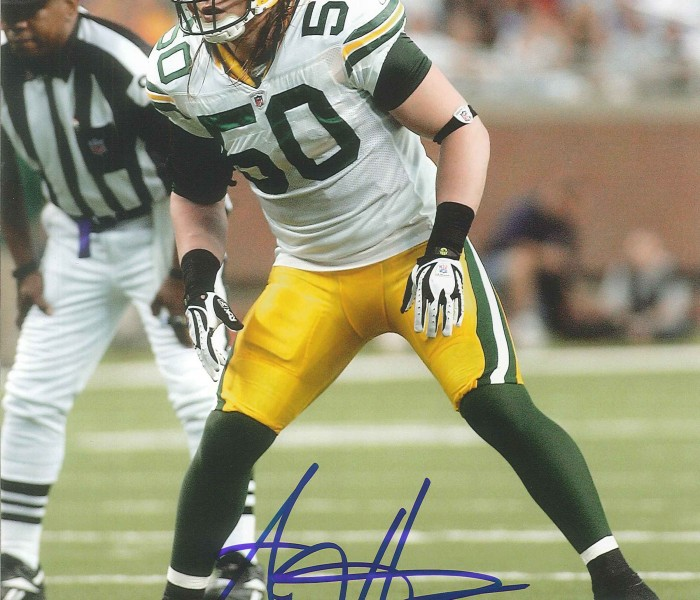 West_Coast_Authentic_NFL_Packers_AJ_Hawk_Autographed_Photo(2)