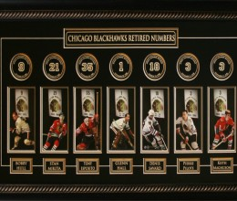 West_Coast_Authentic_NHL_Blackhawks_Retired_Numbers_Framed_Photo