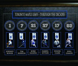 West_Coast_Authentic_NHL_Leafs_Framed_Unisgned_Through_The_Decades